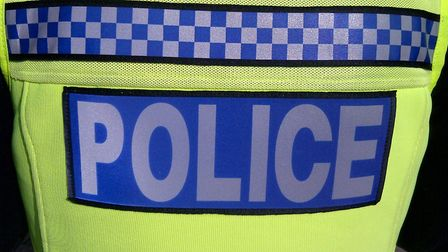 Police and the bomb squad searched a property in Melbourn High Street yesterday