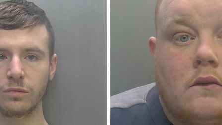 Thomas Wiltshire (left) and Daniel Hunt have been jailed for drug offences.
