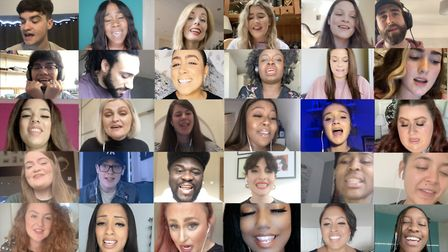 The Voice UK contestants have recorded Stevie Wonder song As to raise money for NHS Charities Togeth