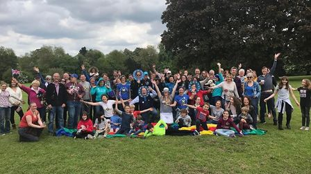Celebrations for Europe Day in previous years included a picnic organised by St Albans for Europe.