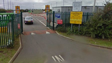 The recycling centre at St Neots will reopen next week