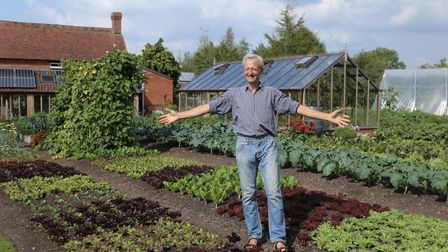 Charles Dowding gives expert advice on growing crops on his YouTube channel. Picture: Charles Dowdin