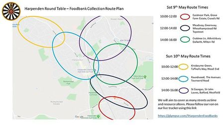 Harpenden Round Table will be making the rounds this weekend to collect donations for the St Albans
