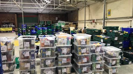 The St Albans and District Foodbank is part of the national Trussel Trust network helping families i