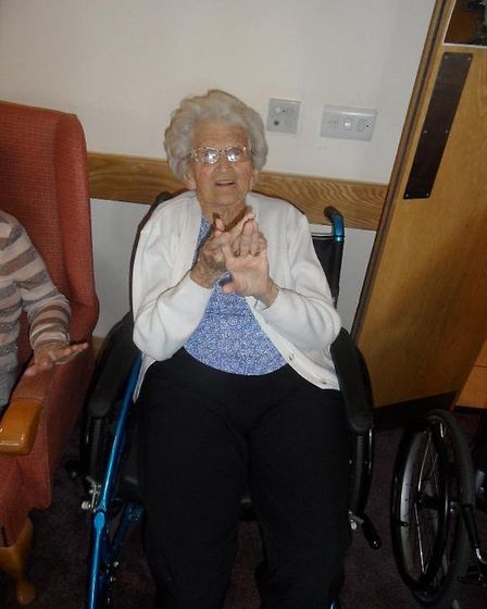 Hazel Green has been a regular attendee of Love to Move since Kim started the programme in her care