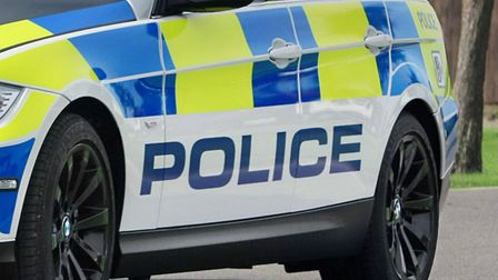 Police are at the scene in St Ives where the body of a woman has been discovered in a lake