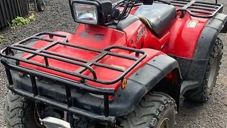 Police found this quad bike after issuing a warrant in Brington