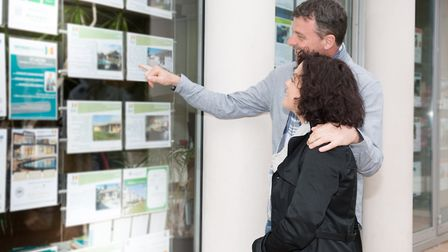 Estate agents are allowed to open their doors to the public again after a seven week break. Picture: