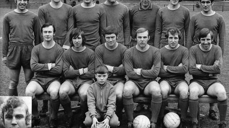 The St Albans City team photo from the 1970-71 season, one of those already on the Saints statistics