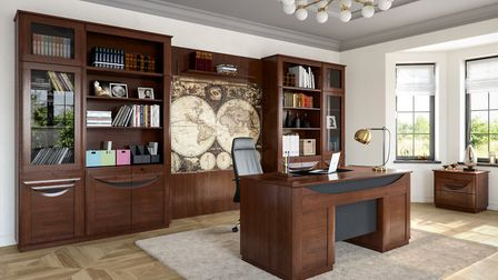 Find the best desk to help you be productive at home. Picture: Sena Home Furniture