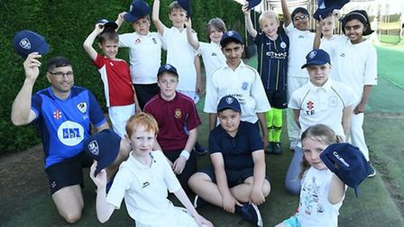 Youngsters at St Ives & Warboys Cricket Club