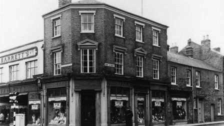 The old Barretts store in St Neots