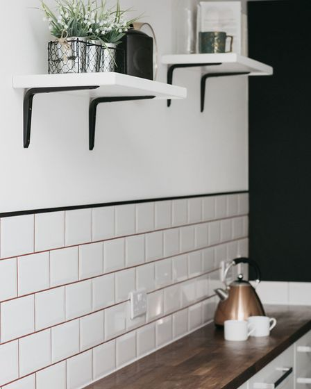 Tiling, grouting and shelving by The Furniture Union; other items, stylist's own. Picture credit sho