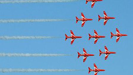 North West Cambs MP is disappointed that the Red Arrows will not be stationed at RAF Wittering.