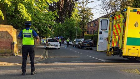 A woman died in a fire in Bowgate flats on Friday, May 15 in St Albans. Picture: Supplied