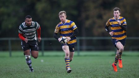 George Saunders in action for St Albans. Picture: KARYN HADDON