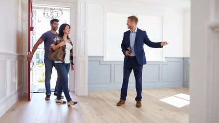Property viewings must now follow safe social distancing rules. Picture: Getty Images/iStockphoto