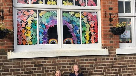 Hands of Hope at Camp School in St Albans. Picture: Julianne Nightingale