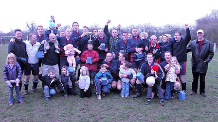 Peacock won the Intermediate Cup and Division Two of the Herts Ad Sunday League in 2004. Picture: BR