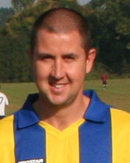 Russell Twigg scored 87 for Golden Lion in the1998-1999 season of the Herts Ad Sunday League Picture