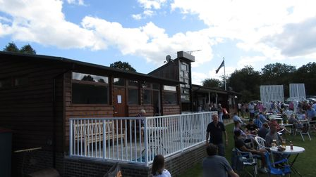 The new pavilion at Harpenden Cricket Club at its official opening in July 2019. Picture: HARPENDEN