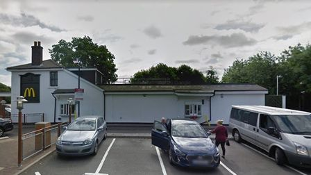 The McDonald's drive-thru at London Colney. Picture: Google Street View