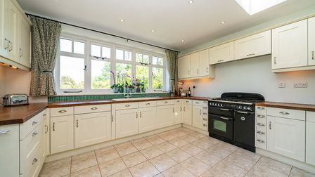 There is a utility room off the large kitchen. Picture: Bradford & Howley