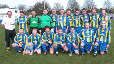 Dolphin won the Herts Sunday Junior Cup in 2005. Picture: BRIAN HUBBALL