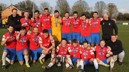 Skew Bridge won the Herts Sunday Cup in 2018. Picture: BRIAN HUBBALL