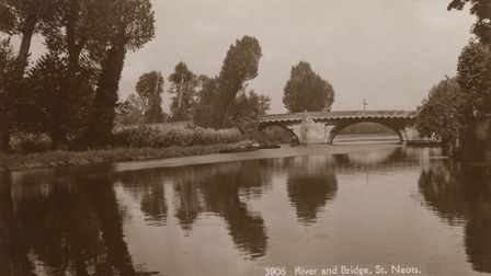 River with osier beds. Picture: MUSEUM