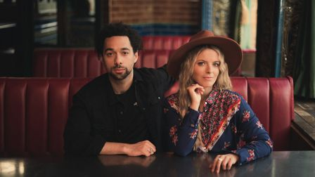 The Shires have teamed up with King Calaway for a duet on Miley Cyrus power-ballad The Climb. Pictur