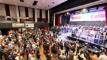 The 2020 St Albans Beer & Cider Festival at The Alban Arena has been cancelled. Picture: CAMRA