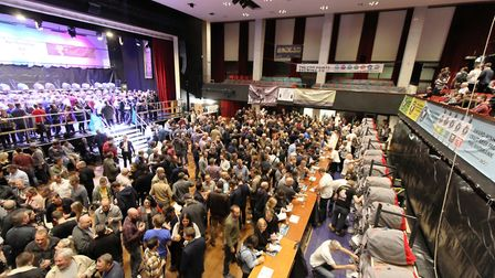 The St Albans Beer & Cider Festival will not take place this year at The Alban Arena. Picture: CAMRA