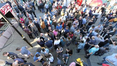 The 2020 St Albans Beer & Cider Festival has been cancelled. Picture: CAMRA