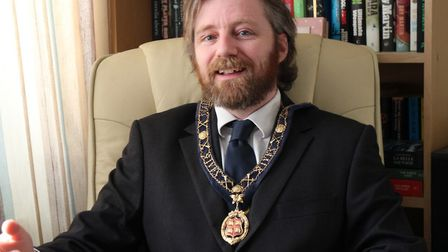 Jonathan Pallant is the new mayor of St Ives
