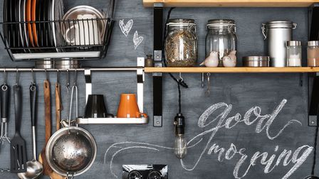 On the shelf: This level of DIY might be easier than you think. Picture: iStock/PA