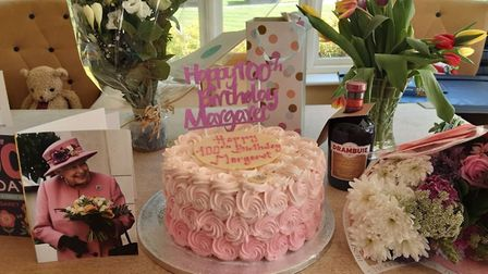 Margaret Gordon Dwerryhouse has celebrated her 100th birthday at Margaret House care home in Barley.