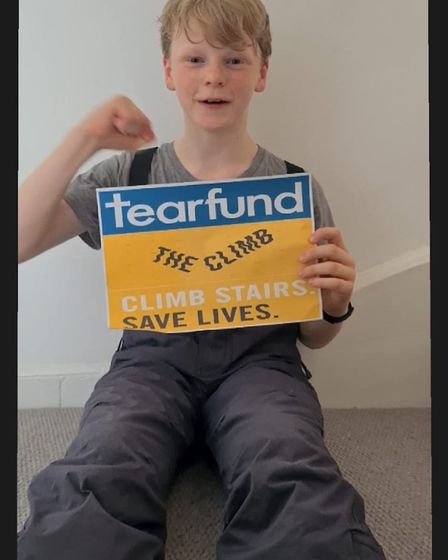 Rowen Ryan joined 'The Climb 2020' campaign and complted a seven day challenge climbing Ben Nevis (1