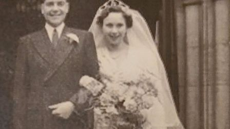 Dennis and June Whitehead, who have lived in Colney Heath for the duration of their life together, w