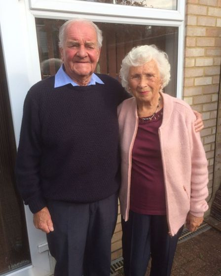 Dennis and June Whitehead have been married for 70 years.
