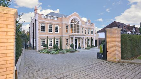 Newlands Avenue, Radlett, is the most expensive home currently for sale in Hertfordshire. It's liste