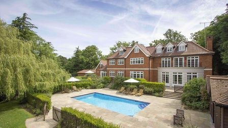 Birchwood Manor, Theobald Street, Radlett, has a guide price of £6.5m. Picture: Fine & Country