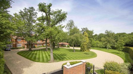 Birchwood Manor is set in grounds of two acres. Picture: Fine & Country