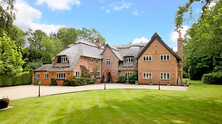 Ringshall, Berkhamsted, has a guide price of £3.25m. Picture: Knight Frank