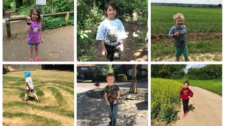 Pupils from St Nicholas School in Harpenden walked more than a million steps to raise money for Guid