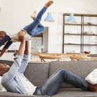 Children can move between parental homes during the lockdown. Picture: Getty Images