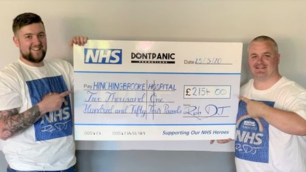 Funky t-shirts, tote bags and tea towels are bringing in cash for NHS heroes thanks to a Huntingdon-