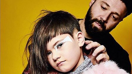Hair stylist Sam Campagna owns Alternative Barbering Co in St Albans. Picture: Supplied