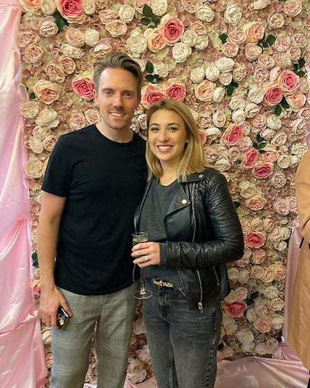 Owners of hair salon Trinder, Marc and Sophie Trinder. Picture: Supplied