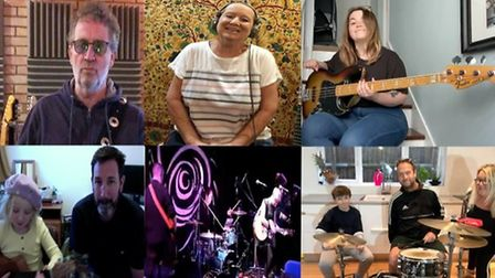 The Stacey Smith Band have released Still Here - The Lockdown version 2020 for Myeloma UK, Macmillan